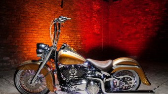 Bad Hombre - 2014 Softail® Deluxe